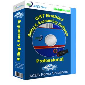 gst ready basic billing software single user acesforce